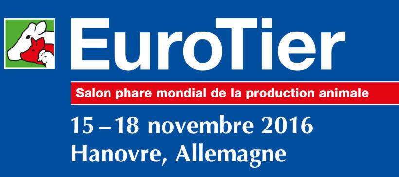 Nous exposons à EuroTier de 15 à 18 novembre 2016